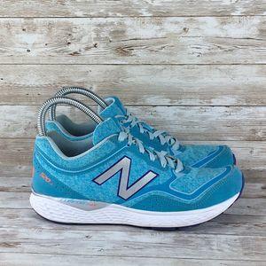 New Balance 520v2 Womens 8 Running Blue White